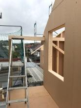 Balkon-Aufbau
