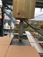 Balkon-Stütze