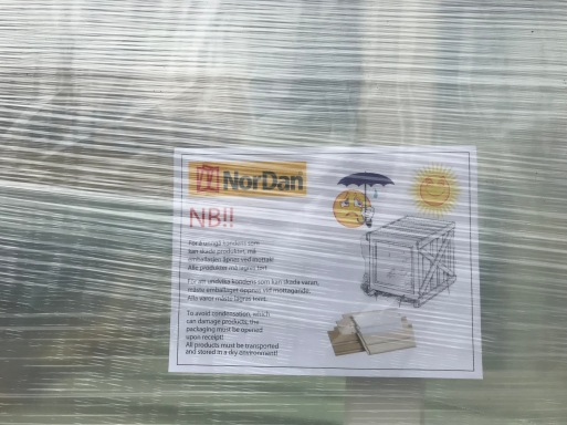 Nordan-Fenster-Lagerungsempfehlungen