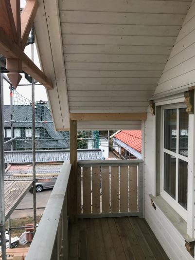 Fertiger Balkon